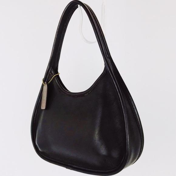 388c8ea5d1 Coach Handbags - Coach Vintage Leather Mini Ergo Shoulder Hobo Bag